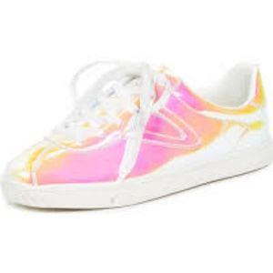 NWT Iridescent Tretorn Sneakers